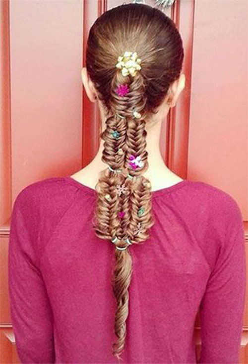 Christmas-Themed-Hairstyle-Ideas-For-Short-Long-Hair-2019-18