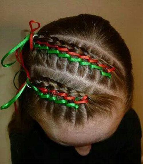 Christmas-Themed-Hairstyle-Ideas-For-Short-Long-Hair-2019-2