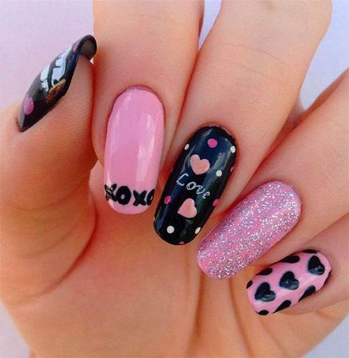 20-Valentine's-Day-Nail-Art-Designs-2020-4