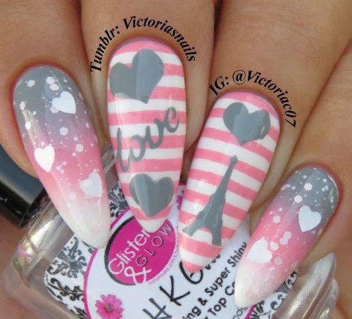20-Valentine's-Day-Nail-Art-Designs-2020-5