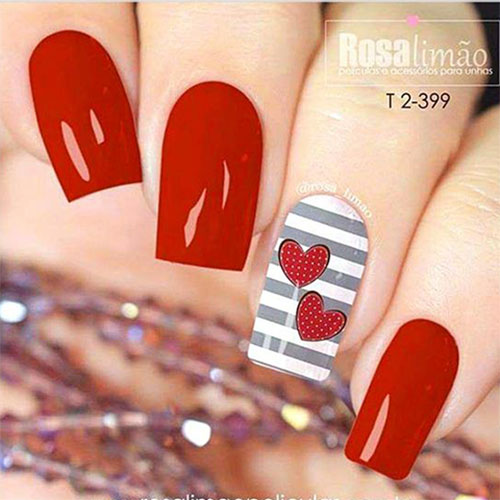 20-Valentine's-Day-Nail-Art-Designs-2020-7