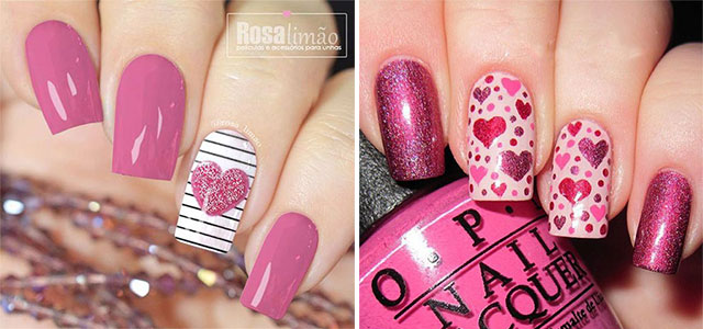 20-Valentine's-Day-Nail-Art-Designs-2020-F