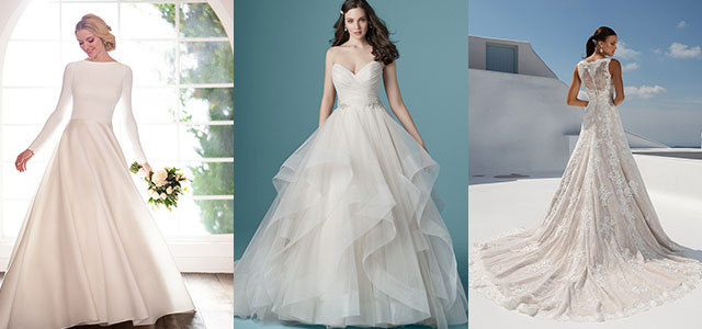 5-Styles-of-Wedding-Dresses-You-Should-Consider