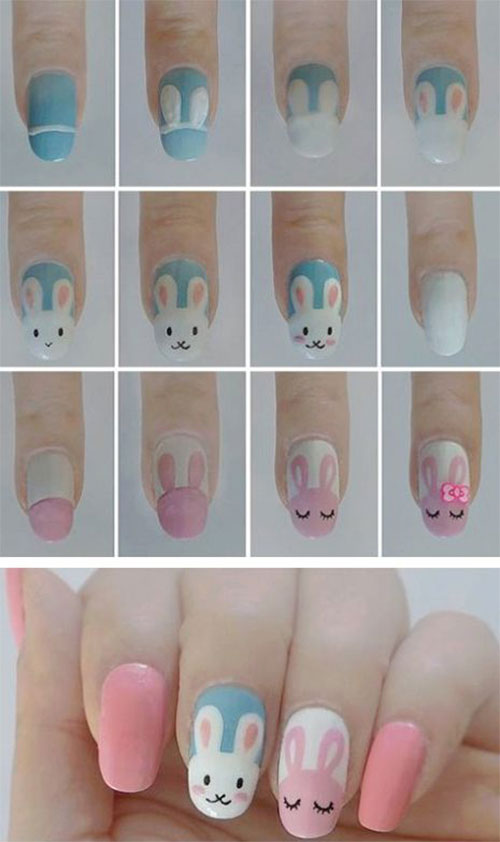 Step-By-Step-Easter- Nail-Art-Tutorials-For-Learners-2020-6