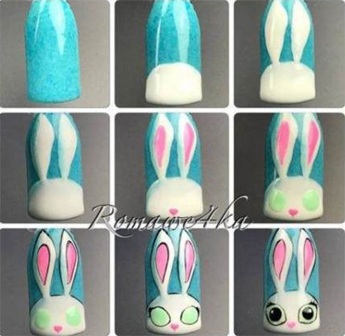 Step-By-Step-Easter- Nail-Art-Tutorials-For-Learners-2020-8