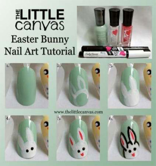 Step-By-Step-Easter- Nail-Art-Tutorials-For-Learners-2020-9