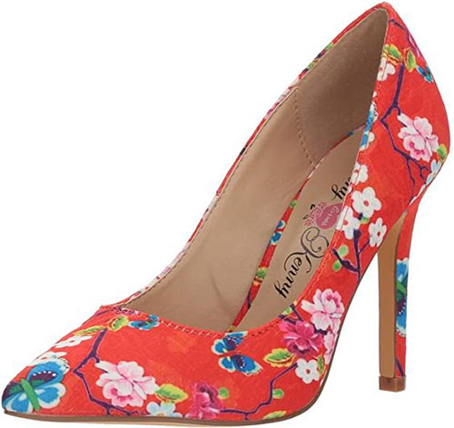 Floral-Heels-For-Girls-Women-2020-Spring-Fashion-5