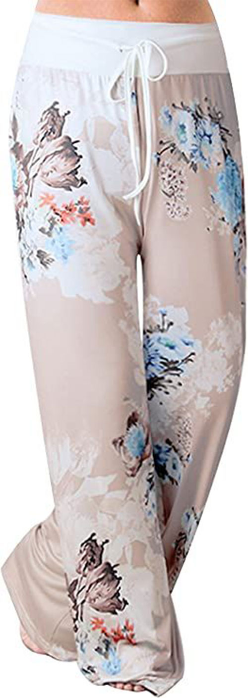 Floral-Print-Pants-For-Girls-Women-2020-Spring-Fashion-1