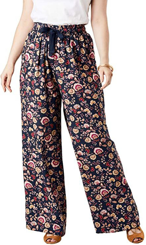 Floral-Print-Pants-For-Girls-Women-2020-Spring-Fashion-10