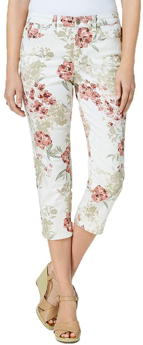 Floral-Print-Pants-For-Girls-Women-2020-Spring-Fashion-11