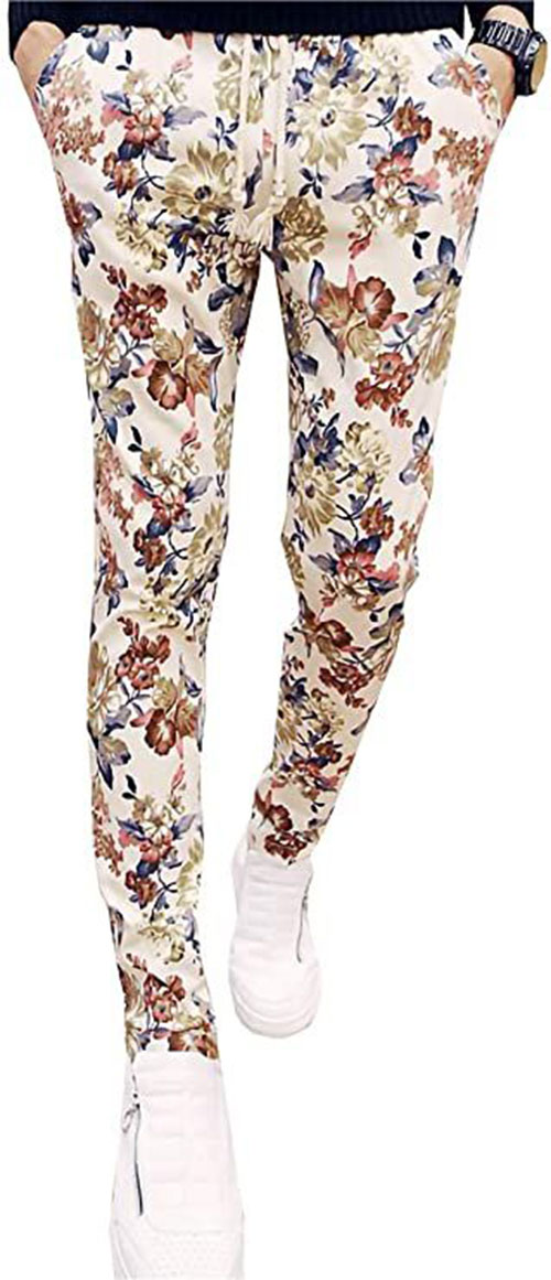 Floral-Print-Pants-For-Girls-Women-2020-Spring-Fashion-3