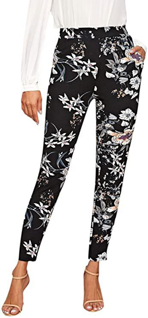 Floral-Print-Pants-For-Girls-Women-2020-Spring-Fashion-8