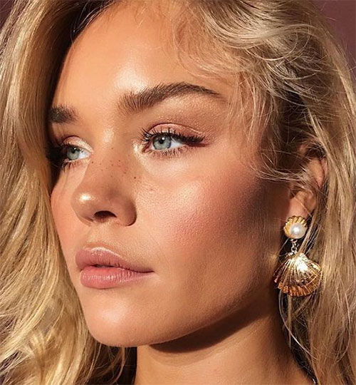 Summer-Face-Makeup-Trends-For-Girls-Women-2020-8