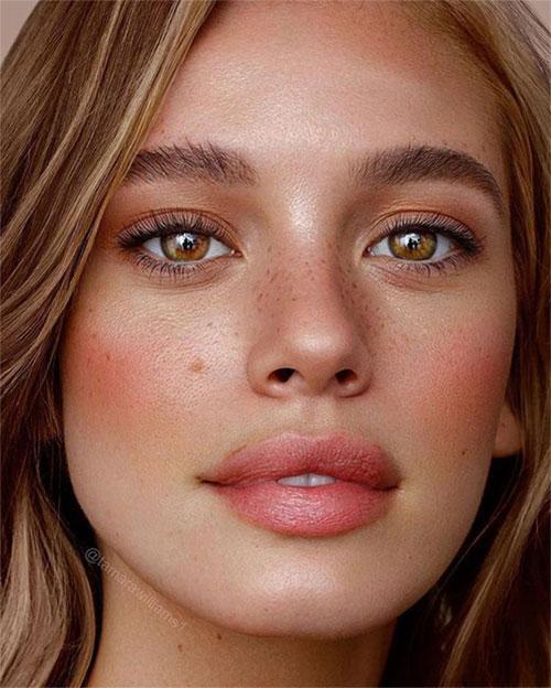Summer-Face-Makeup-Trends-For-Girls-Women-2020-9