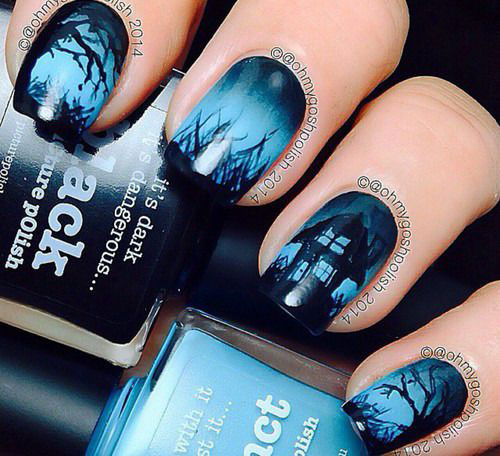 30-Scary-Halloween-Nail-Art-Designs-Ideas-2020-23
