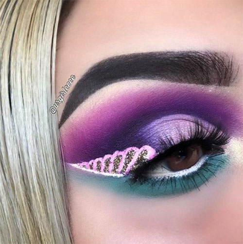 Best-Halloween-Unicorn-Makeup-Looks-2020-1