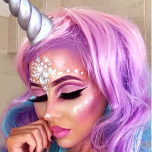 Best-Halloween-Unicorn-Makeup-Looks-2020-12