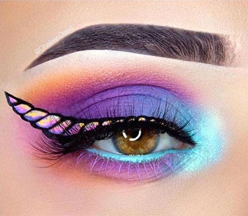 Best-Halloween-Unicorn-Makeup-Looks-2020-2