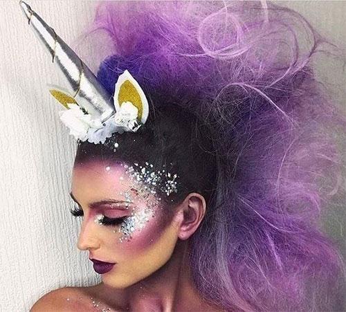 Best-Halloween-Unicorn-Makeup-Looks-2020-5