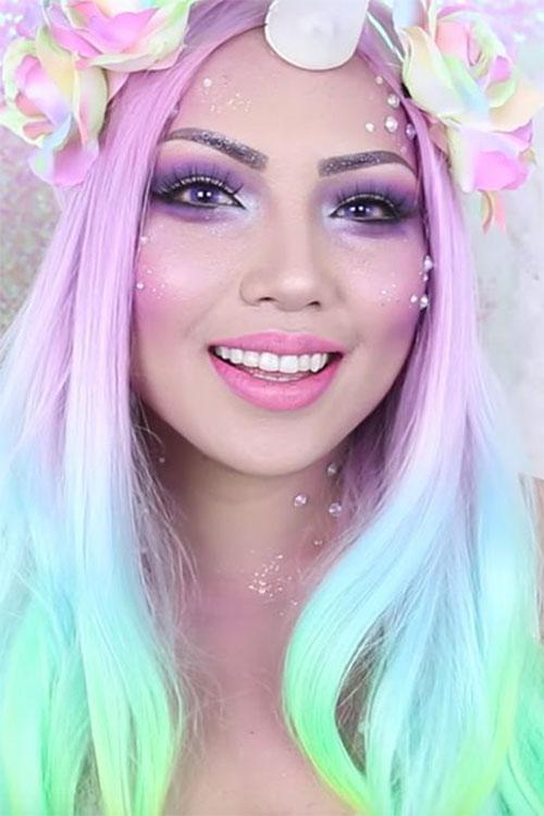 Best-Halloween-Unicorn-Makeup-Looks-2020-6