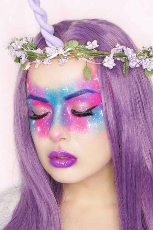Best-Halloween-Unicorn-Makeup-Looks-2020-8