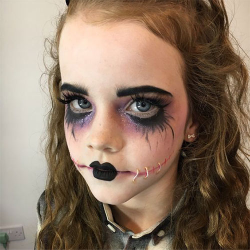 Easy-Halloween-Makeup-Looks-For-Kids-2020-10