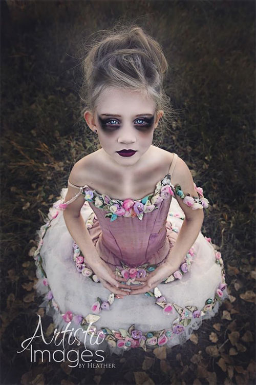 Easy-Halloween-Makeup-Looks-For-Kids-2020-11