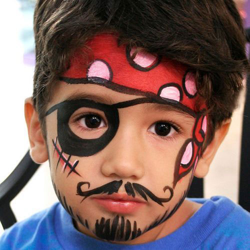 Easy-Halloween-Makeup-Looks-For-Kids-2020-16