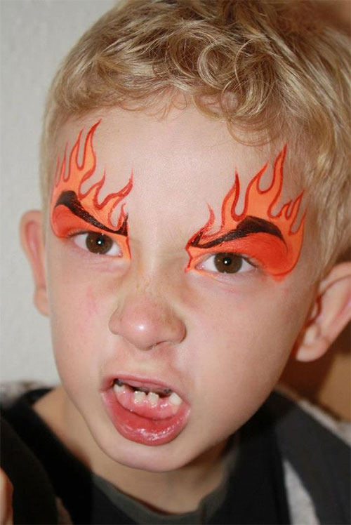 Easy-Halloween-Makeup-Looks-For-Kids-2020-17