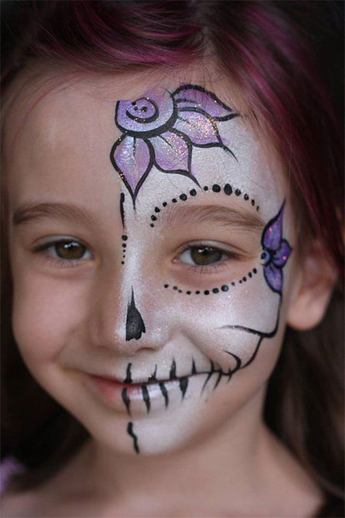 Easy-Halloween-Makeup-Looks-For-Kids-2020-2