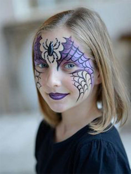 Easy-Halloween-Makeup-Looks-For-Kids-2020-4