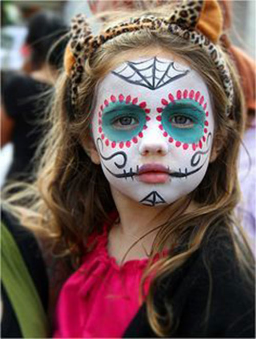Easy-Halloween-Makeup-Looks-For-Kids-2020-6