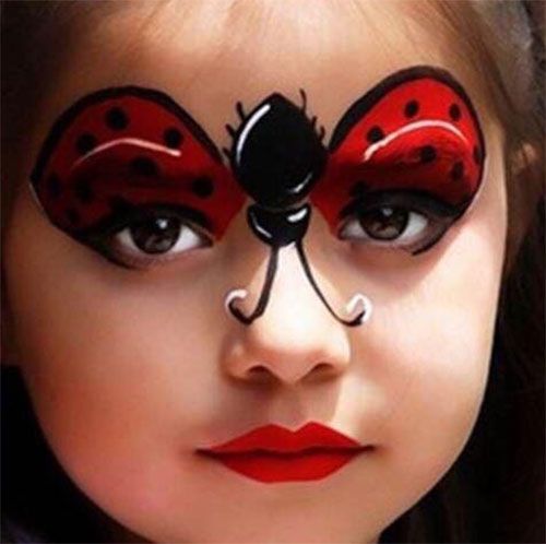 Easy-Halloween-Makeup-Looks-For-Kids-2020-7