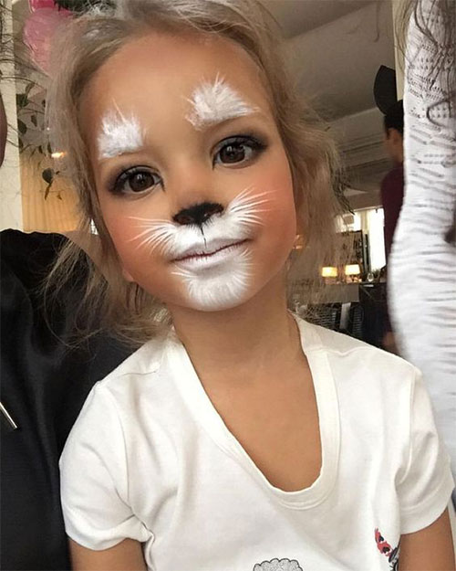 Easy-Halloween-Makeup-Looks-For-Kids-2020-9