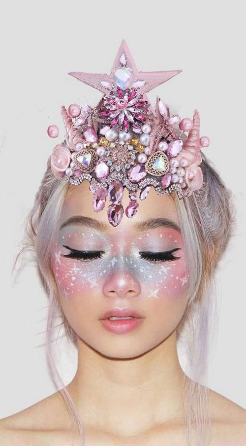 Halloween-Scary-Mermaid-Makeup-Looks-Ideas-2020-12