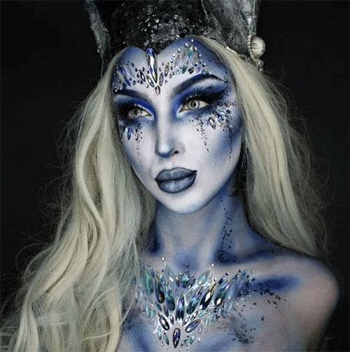 Halloween-Scary-Mermaid-Makeup-Looks-Ideas-2020-13
