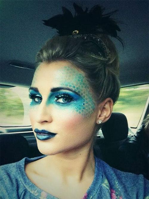 Halloween-Scary-Mermaid-Makeup-Looks-Ideas-2020-3