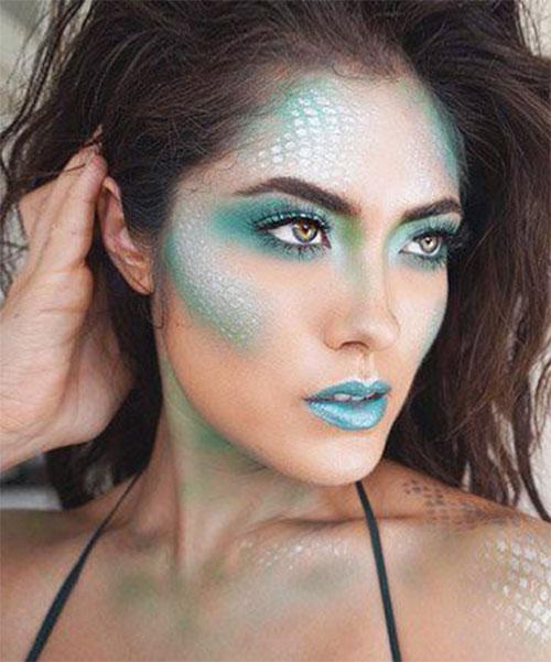 Halloween-Scary-Mermaid-Makeup-Looks-Ideas-2020-4