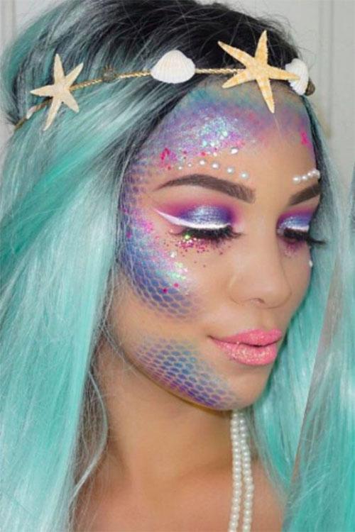 Halloween-Scary-Mermaid-Makeup-Looks-Ideas-2020-6