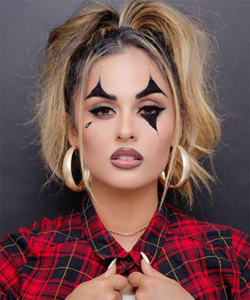 Simple-Easy-Last-Minute-Halloween-Makeup-Ideas-2020-1