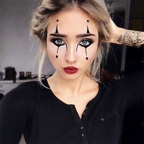 Simple-Easy-Last-Minute-Halloween-Makeup-Ideas-2020-11