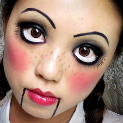Simple-Easy-Last-Minute-Halloween-Makeup-Ideas-2020-12