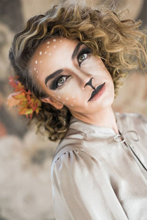 Simple-Easy-Last-Minute-Halloween-Makeup-Ideas-2020-14