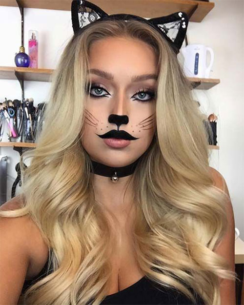 Simple-Easy-Last-Minute-Halloween-Makeup-Ideas-2020-2