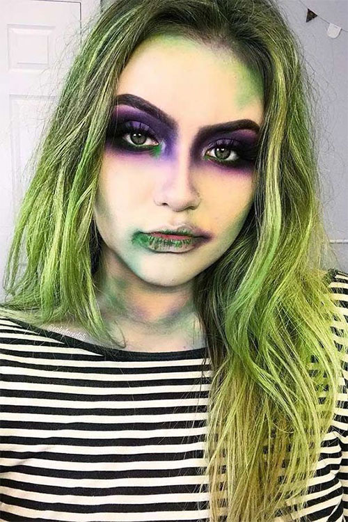 Simple-Easy-Last-Minute-Halloween-Makeup-Ideas-2020-3