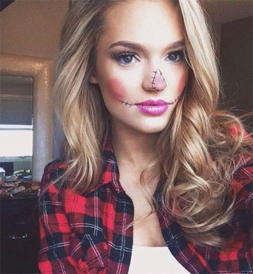 Simple-Easy-Last-Minute-Halloween-Makeup-Ideas-2020-4
