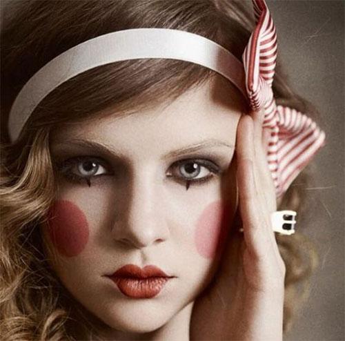 Simple-Easy-Last-Minute-Halloween-Makeup-Ideas-2020-5