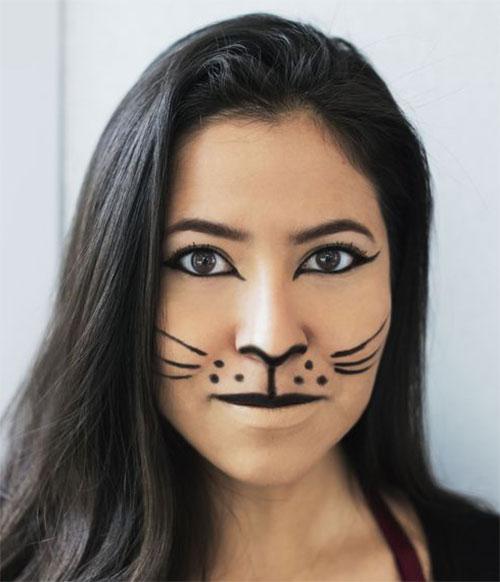 Simple-Easy-Last-Minute-Halloween-Makeup-Ideas-2020-6