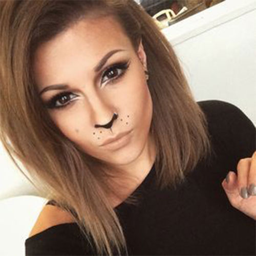Simple-Easy-Last-Minute-Halloween-Makeup-Ideas-2020-9