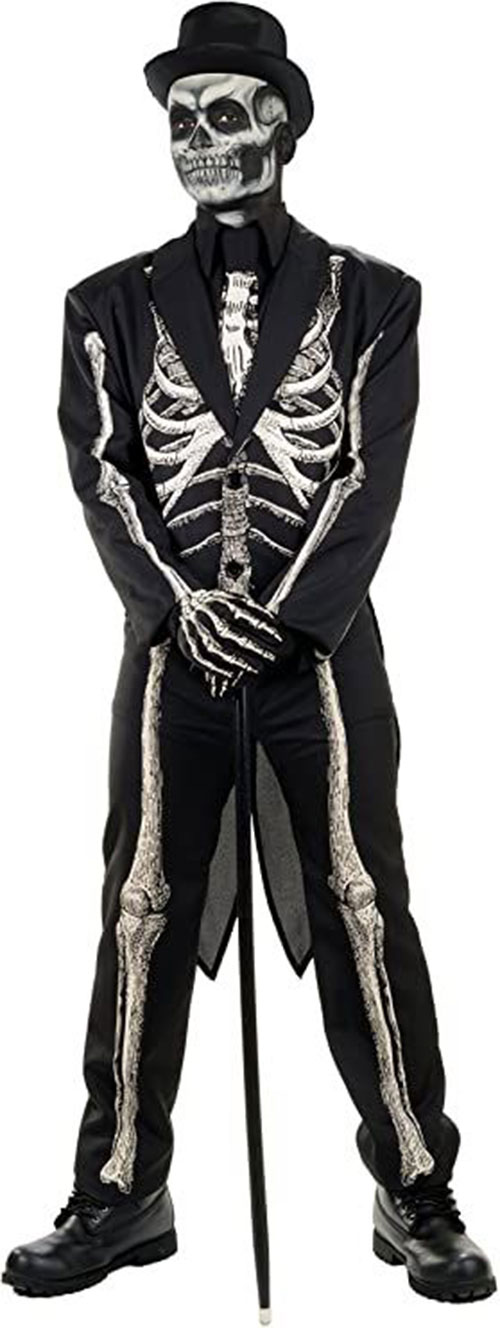 Skeleton-Costumes-For-Kids-Adults-2020-Halloween-Costumes-11